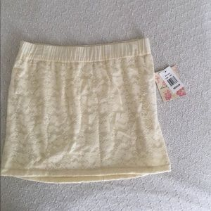 Dresses & Skirts - NWT Off White High Waisted Lace Skirt